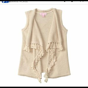 Lilly Pulitzer Shirts & Tops - Lilly Pulitzer 🌴NWT girls sweater vest sz S